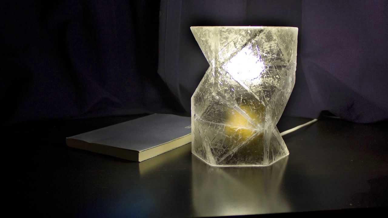 DIY homemade resin lampshade VOL 2 advanced mould