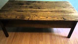 Shot Gun Coffee Table 001