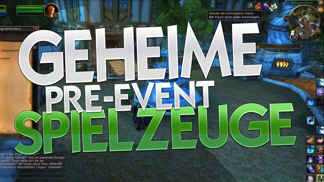 Geheime Legion Pre Event Spielzeuge World Of Warcraft Wow