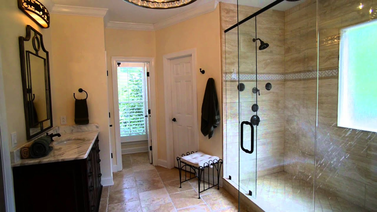 Brentwood Bathroom Remodel Multiple Shower Heads Youtube