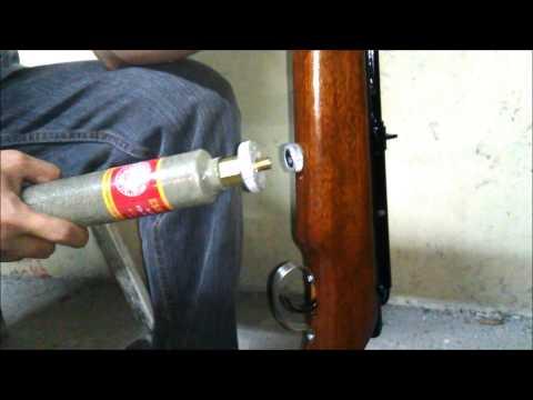 How to charge Eskopeta CO2 Air Rifle