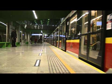 Metro Warszawa Stacja Stadion Narodowy