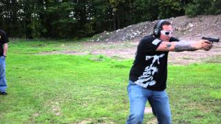 "Mike Centola Shooting M&P9 ""All Hostages Are Dead"""