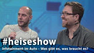 #heiseshow: Auto-Infotainment: Audi, BMW, Mercedes vs. Apple & Google