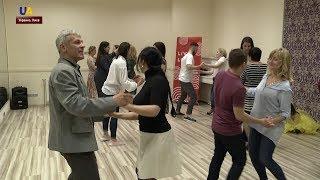 В канун Дня матери в Киеве провели особый танцевальный урок