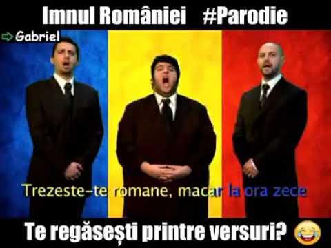 Imnul romaniei parodie