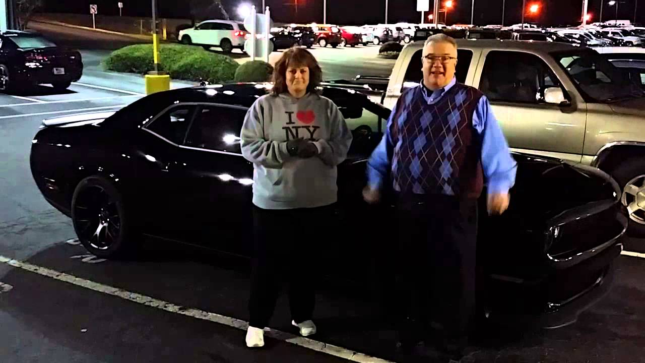 Dodge Challenger Hell Cat And Other Satisfied Customers At Thomson Chrysler  Dodge Jeep Ram