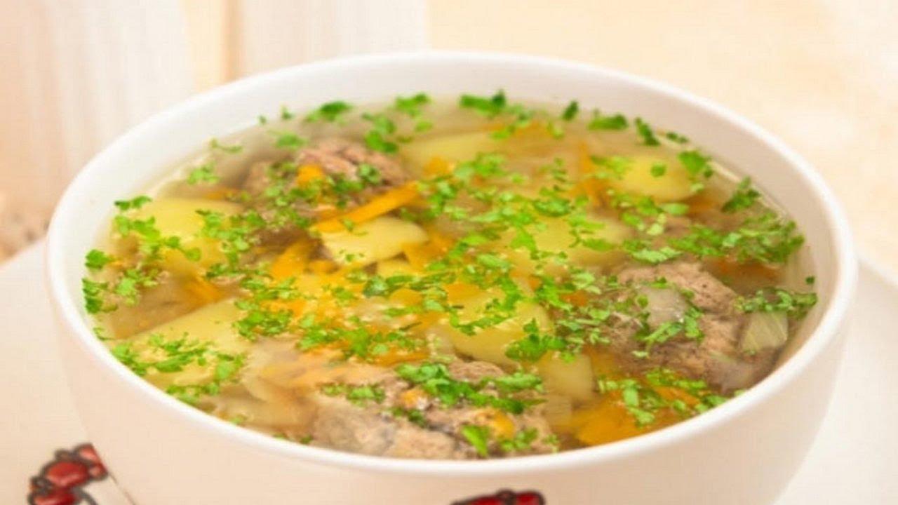 Суп из куриных грудок
