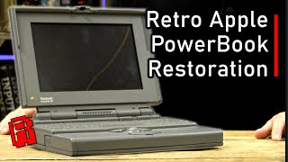 Restoration of a '90s Apple Powerbook - Trash to Treasure