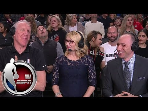 Dickie V, Bill Walton call NBA games on Crossover Night | ESPN