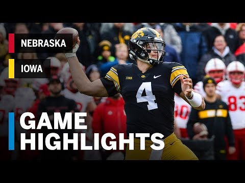 Highlights: Nebraska at Iowa | Big Ten Football