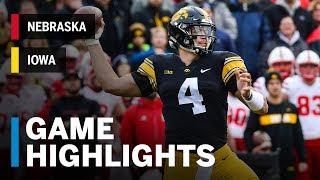 Highlights: Nebraska at Iowa | Big Ten Football