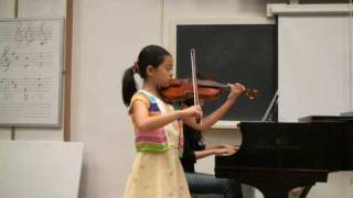 Jina Zhao: Best Seitz Violin Concerto on Youtube