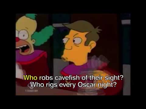 The Simpsons Karaoke - We Do (The Stonecutters' song)