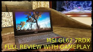 MSI GL62 7RDX : FULL REVIEW WITH GAMING TEST IN FULL HD