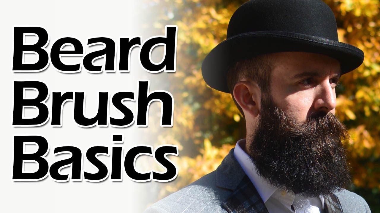How To Brush A Beard Youtube