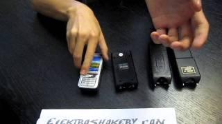 Оса-669 vs Оса-800 vs Оса-888 vs Kelin(телефон) ElektroShokery.com