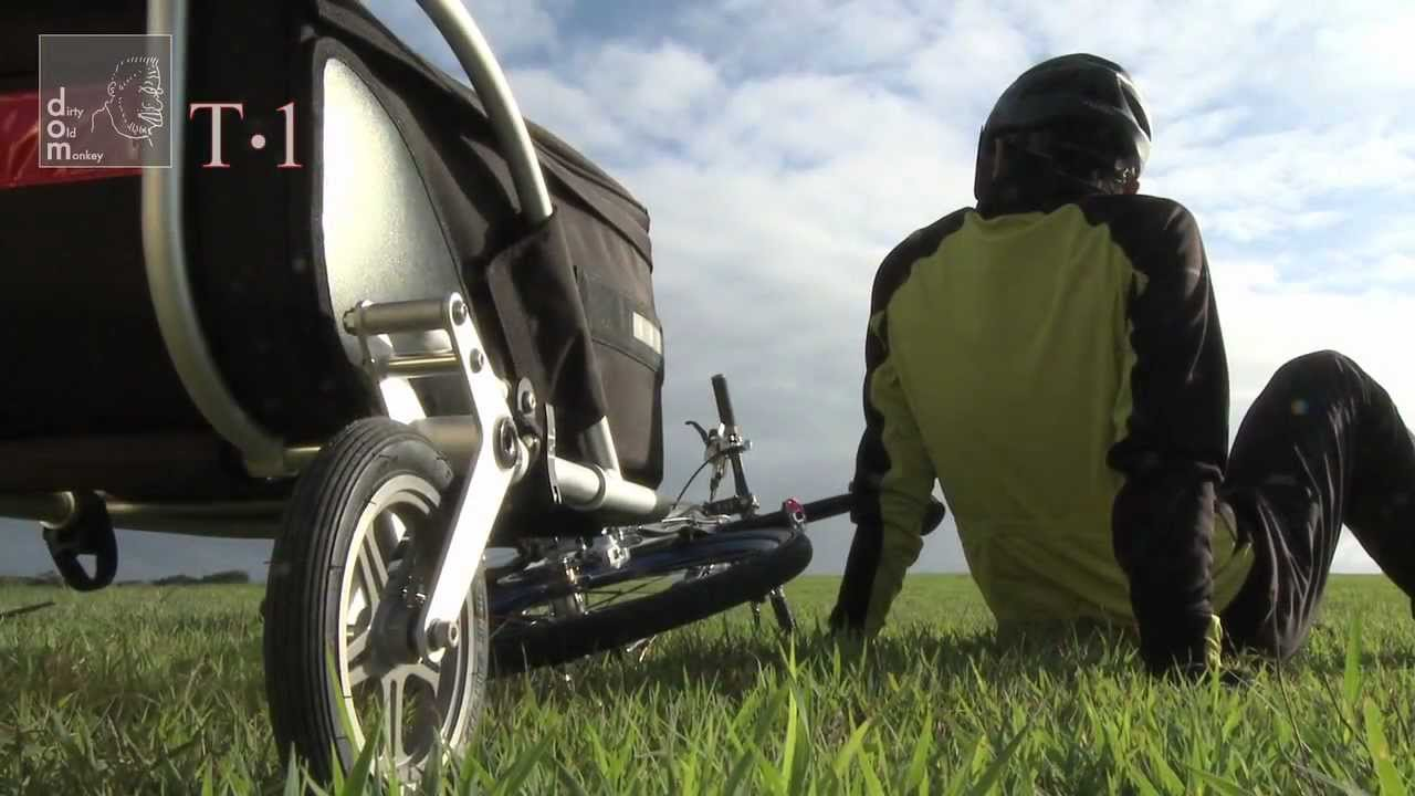 Radsport SharperBike T1 Trailer and Luggage Cart