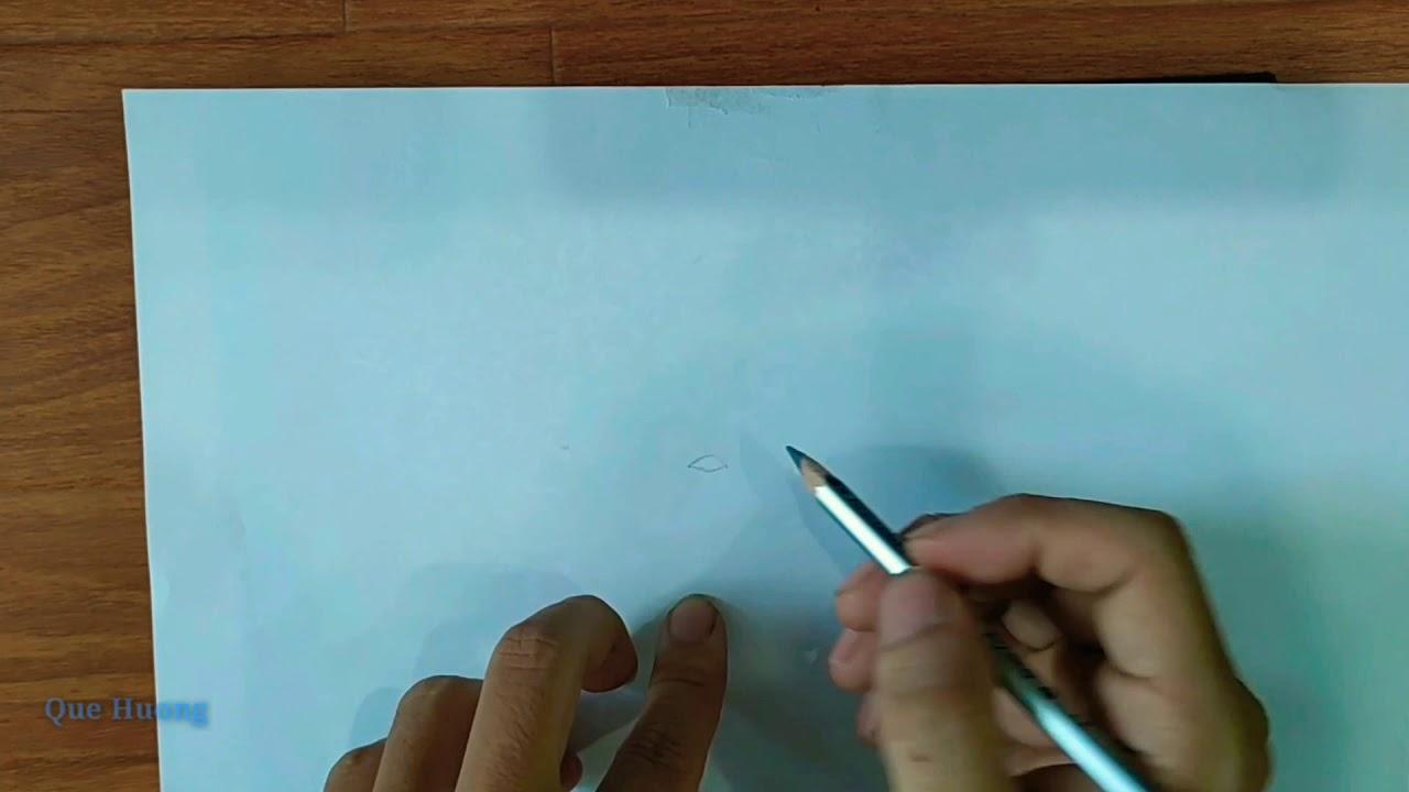 Vẽ chân dung cầu thủ Trần Đình Trọng
