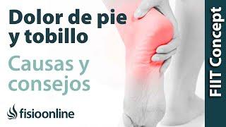 Caminar tobillo agudo en y el pie al dolor el