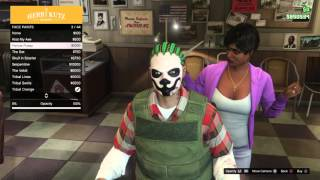 Gta 5 Geheime Halloween Facepaint