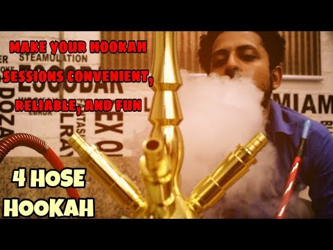 4 Pipe Hookah | Latest Long Size Shisha Models