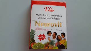 Neurovit capsules uses, benefits,side effects,how to use, review in hindi