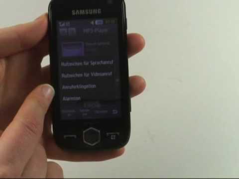 Samsung S8000 Jet Test Musikplayer