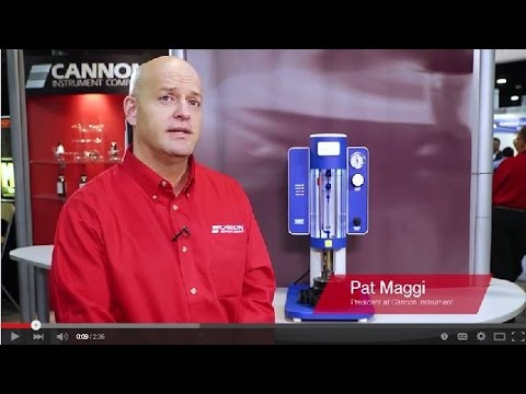 CANNON® miniAV®-X Automated Benchtop Kinematic Viscometer