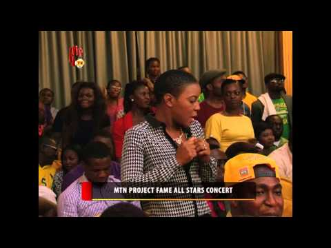 MTN PROJECT FAME ALL STARS CONCERT (Nigerian Entertainment News)