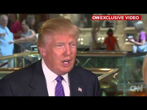 "CNN Exclusive: Donald Trump ""Elizabeth Beck is a horrible person"" HD"