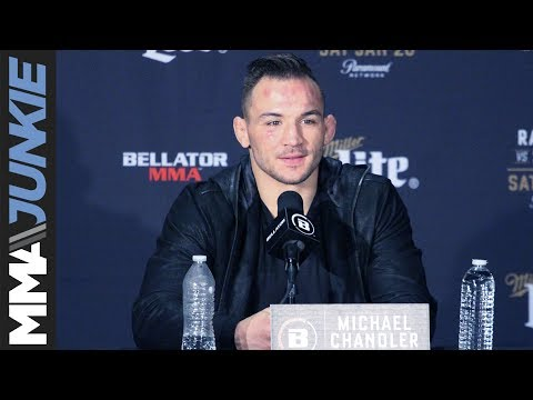 Michael Chandler full post-Bellator 192 interview