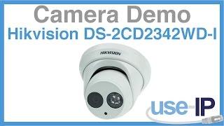 Camera Demo: Hikvision DS-2CD2342WD-I 4MP EXIR Turret Camera