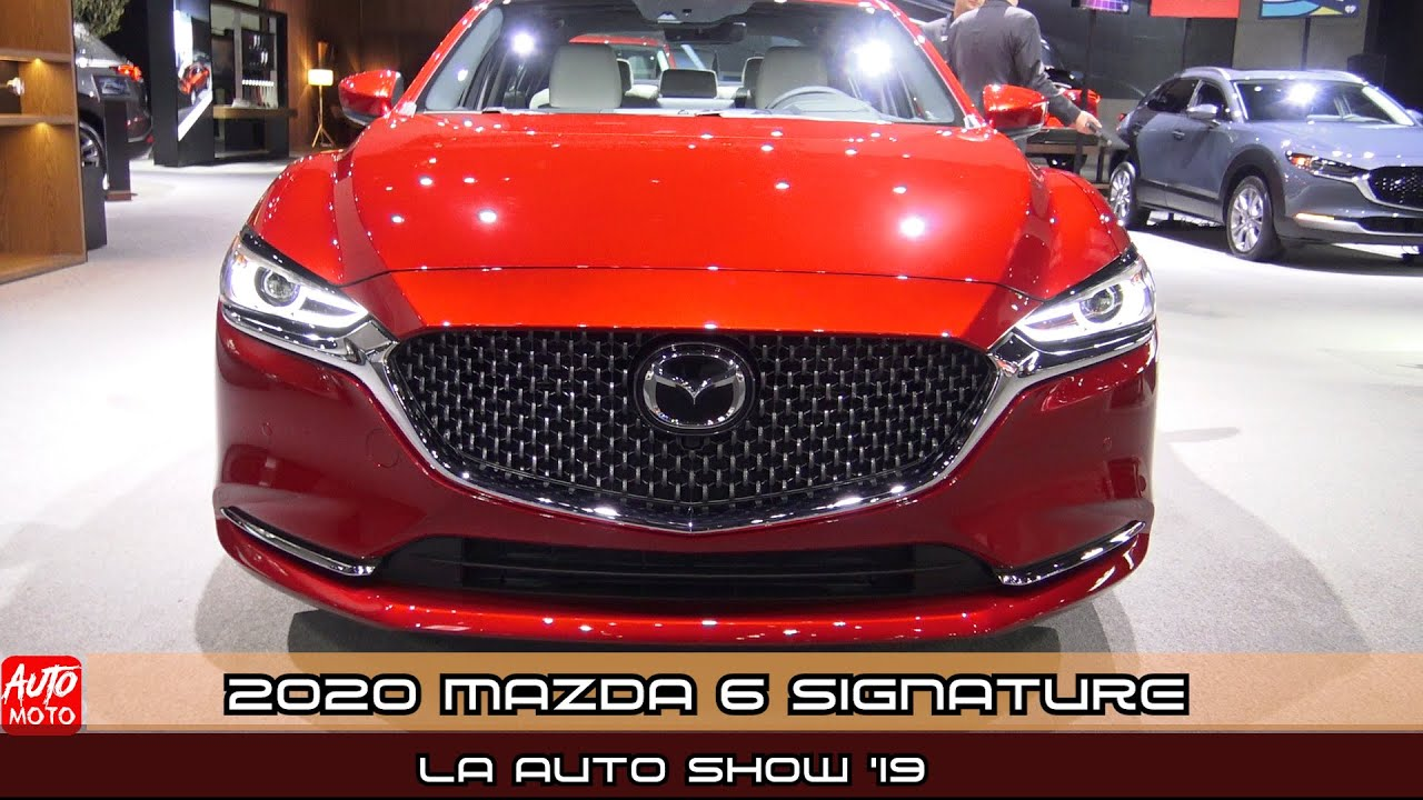 2020 mazda 6 signature - exterior and interior - debut at la auto show 2019