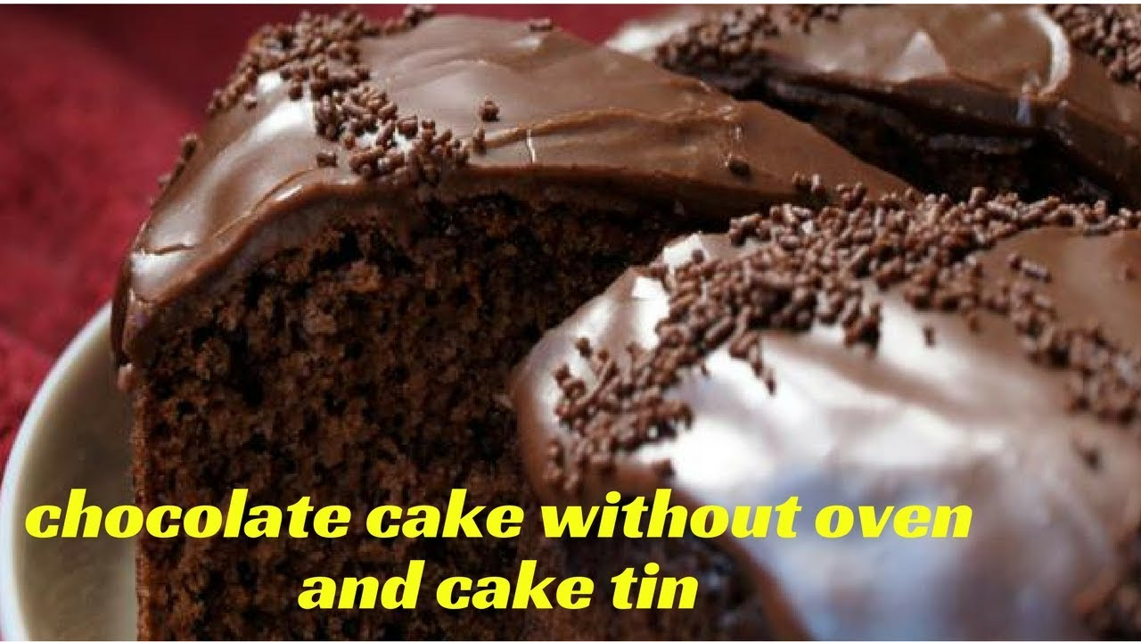 Cake Making In Pressure Cooker Malayalam: CHOCOLATE CAKE WITHOUT OVEN-no Oven No Cake Tin- Pressure