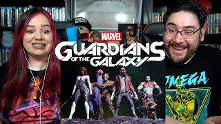 Marvel's Guardians of the Galaxy - Official E3 Reveal Trailer Reaction / Review