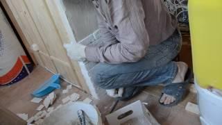 Гипсовая плитка без швов откосы укладка(, 2017-01-07T11:43:02.000Z)