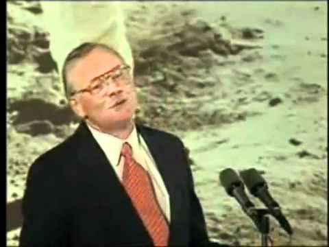 Nasa moon landing commander Neil Armstrong anniversary speech