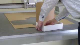 Comagrav Digi Corrugated Box Creation - Creasing & Cutting
