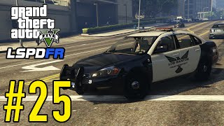 """GTA 5 - LSPDFR """"Playing As A Cop"""" Commentary - Episode #25: Chevy Impala Patrol!"""