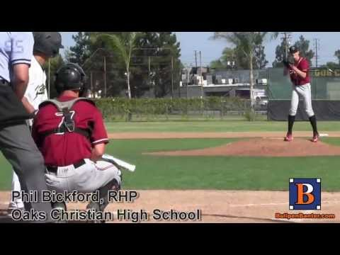 PHIL BICKFORD PROSPECT VIDEO, RHP, OAKS CHRISTIAN HIGH SCHOOL