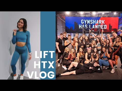 MY FIRST GYMSHARK POP UP SHOP | HOUSTON TEXAS