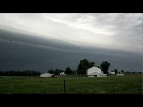 Storm Front Bremen Indiana 081612