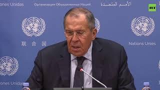 Пресс-конференция Лаврова по итогам работы 74-й сессии Генассамблеи ООН — LIVE