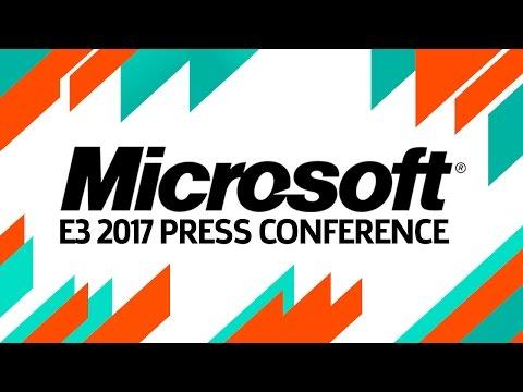 E3 2017: Microsoft Full Press Conference
