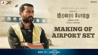 Making of Terrace Set Near Chennai Airport | Soorarai Pottru | Sudha Kongara | Suriya | Niketh Bommi