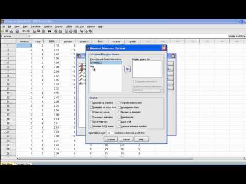 How to Calculate Statistical Power Using SPSS - YouTube