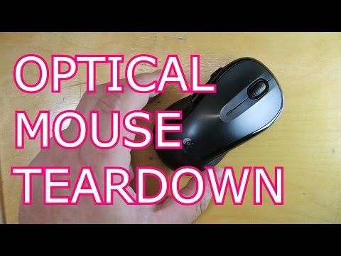Optical Mouse Teardown Look At The Sensor