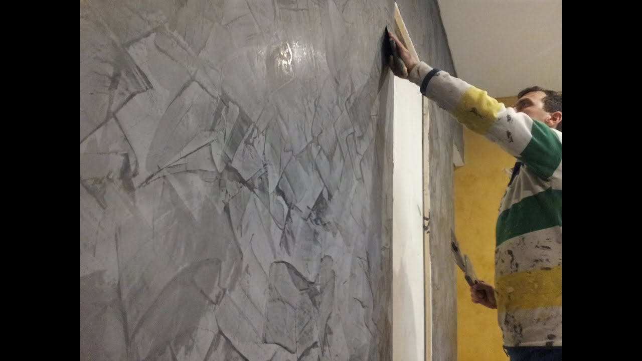 Tadelakt et deco youtube - Peinture stucco video ...