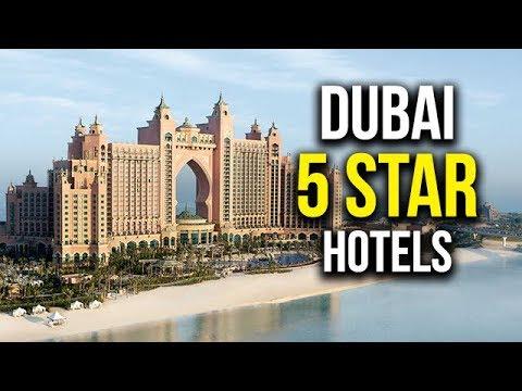 Top 5 5 Star Hotels In Dubai Youtube